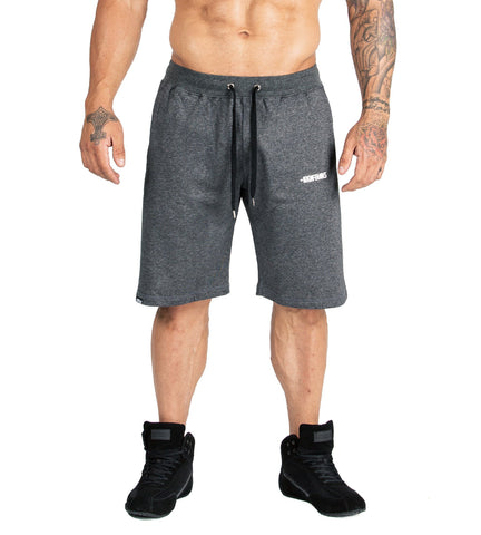 Iron Tanks Mens Shorts BFG Gym Shorts II - Grey