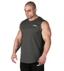 Iron Tanks Mens Tanks Alpha Muscle Tank II - Charcoal