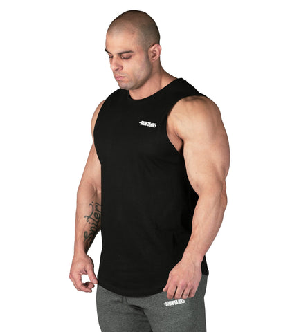35fecb980ce40 Iron Tanks Mens Tanks Alpha Muscle Tank - Mythos Black. Images. 1    2     3    ...