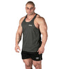 Iron Tanks Mens Tanks Alpha T-Back Singlet II - Charcoal