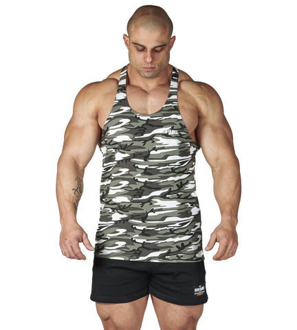 Iron Tanks Mens Tanks Alpha T-Back - Urban Camo