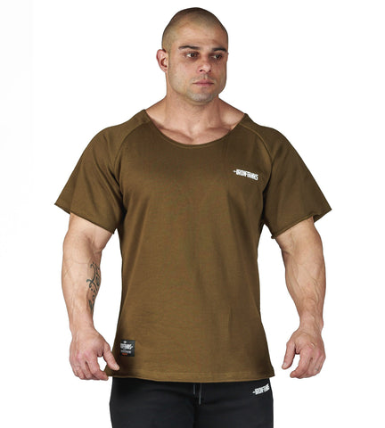 Iron Tanks Mens Tees & Shirts BFG Heavy Rag Top - Army Green
