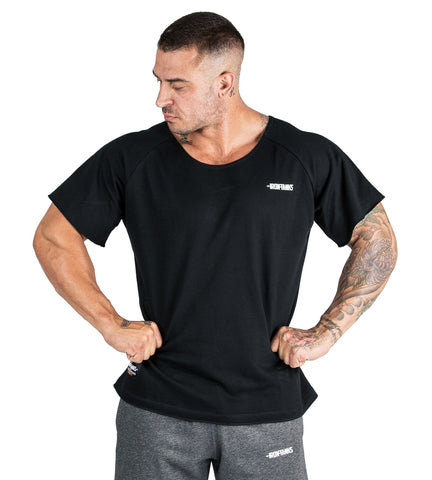 Iron Tanks Mens Tees & Shirts BFG Heavy Rag Top - Black