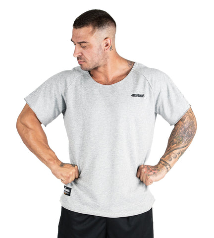 Iron Tanks Mens Tees & Shirts BFG Heavy Rag Top - Grey