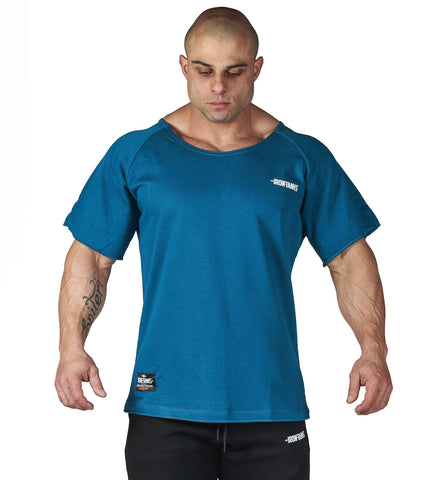 Iron Tanks Mens Tees & Shirts BFG Heavy Rag Top - Raw Blue