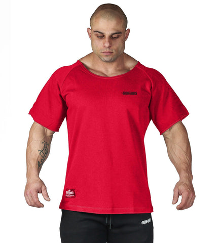 Iron Tanks Mens Tees & Shirts BFG Heavy Rag Top - Red