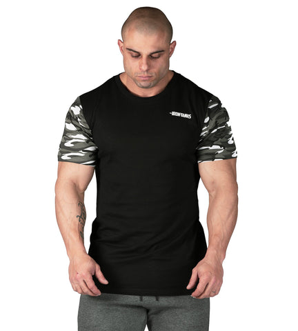 Iron Tanks Mens Tees & Shirts Loaded Gym Tee - Urban Camo
