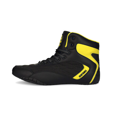Iron Tanks Weightlifting Shoe Orion Genesis Gym Shoe - Saiyan Yellow