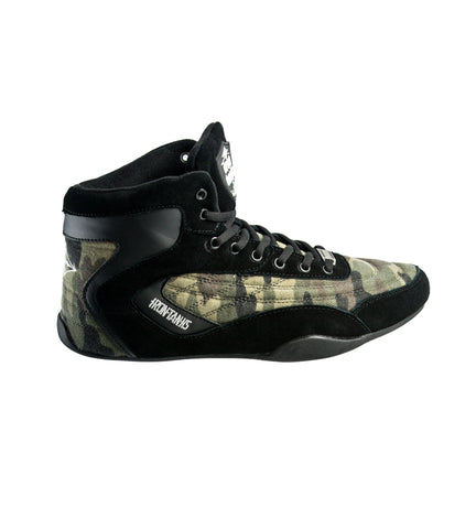 Iron Tanks Weightlifting Shoe Orion X Gym Shoe - Predator Camo