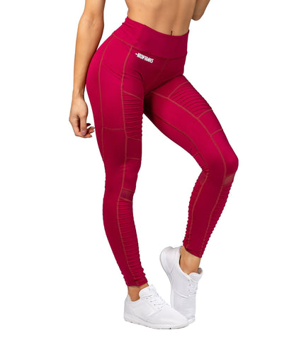 Iron Tanks Womens Capri Unleashed Leggings - Burgundy
