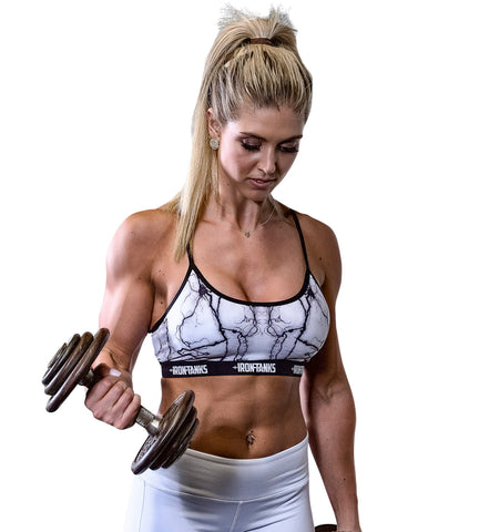 Iron Tanks Womens Crop Top Insidious Sports Bra