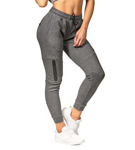 Iron Tanks Womens Pants Womens Fusion Gym Pants - Carbon Grey