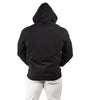 Men's Hulk Fleece Zip Hoodie Black Gym Workout Training | Iron Tanks