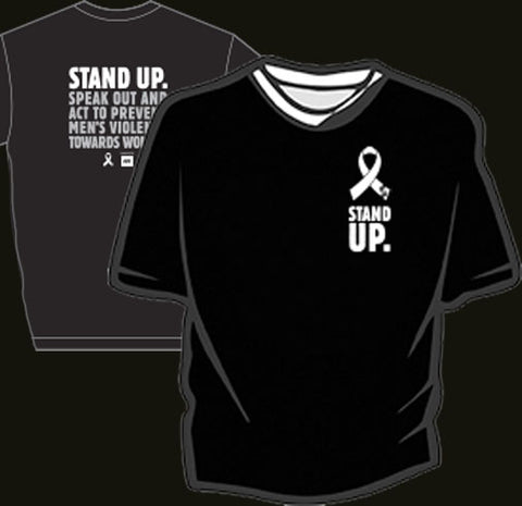 Men's White Ribbon t-shirt - 2018