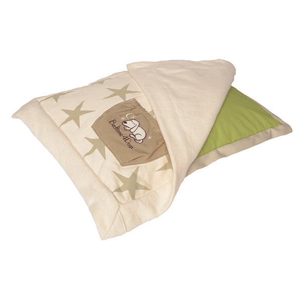 Small Kiwi Canine Coverlet with Starry Zip On Cuddler