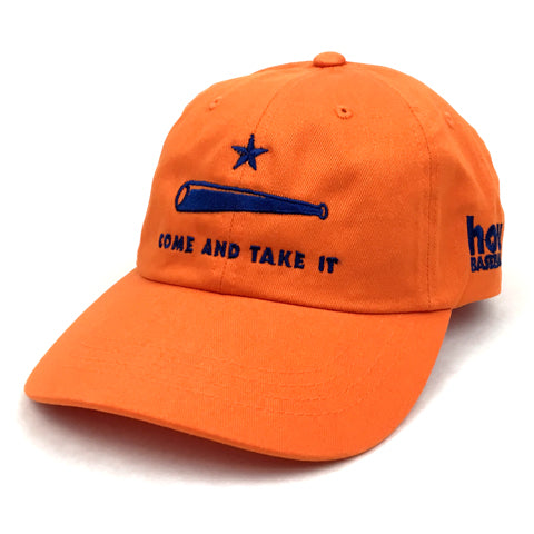 RGC-Strapback-Ball-Cap-ComeAndTakeIt-ORANGE