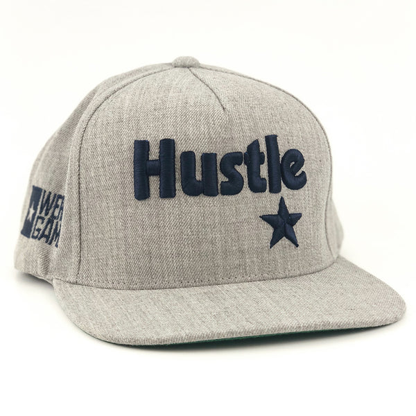 RGC-SnapbackHat-HUSTLE-STAR-HEATHER-GREY
