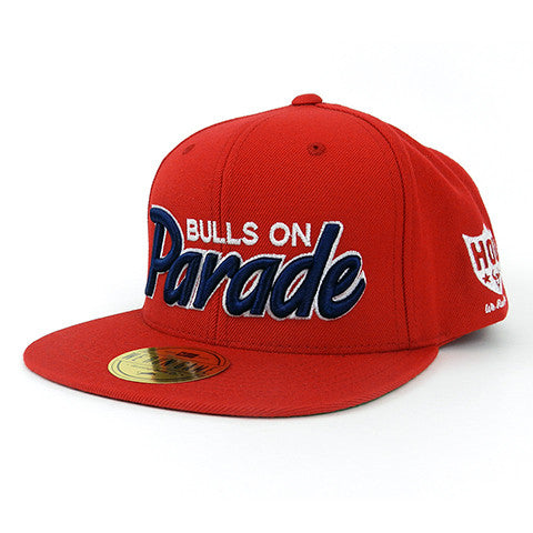 RGC-Mens-SnapbackHat-BULLS-ON-PARADE-RED