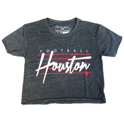 RGC-Womens-FootballLines-RawEdge-Crop-Shirt-Tee-Houston-VINTAGE DENIM