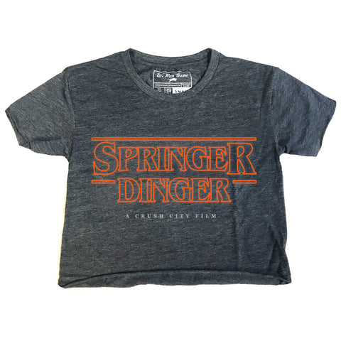 RGC-Womens-SpringerDinger-RawEdge-Crop-Shirt-Tee-Houston-VINTAGE DENIM-Baseball-Stros