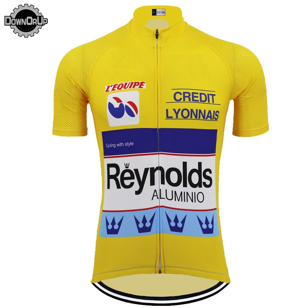 Tour De France Yellow Jersey - Reynolds Team
