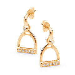 Traditional Stirrup Earrings