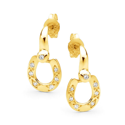 Classic Horseshoe Earrings