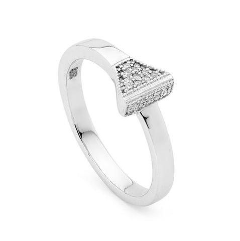 Diamond Nail Ring