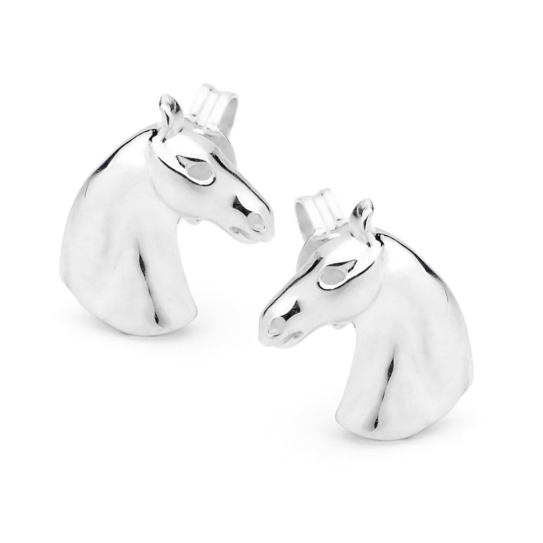 Petite Horsehead Earrings