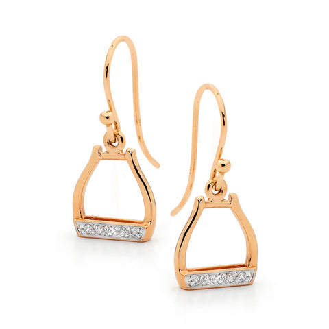 Oxbow Shepherd Hook Stirrup Earings