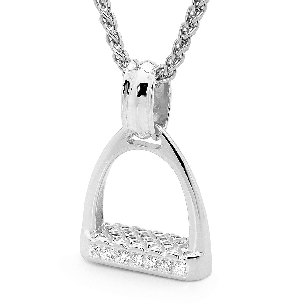 Medium Stirrup Pendant