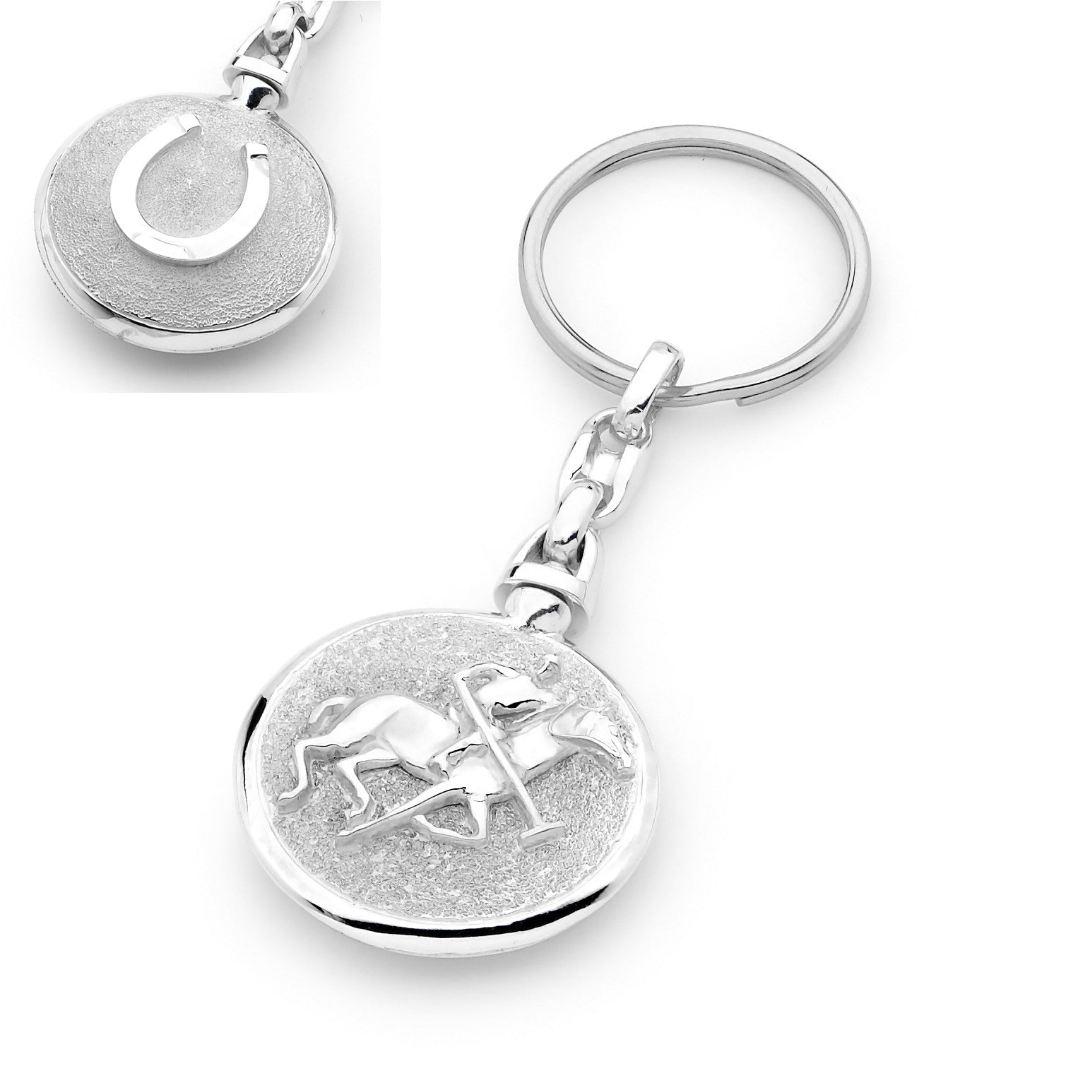 Polo Pony Key Ring