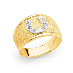 Horseshoe Ring - Gold