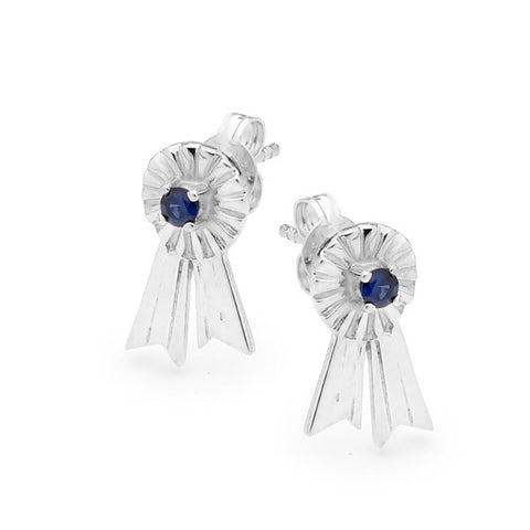 Rosette Earrings