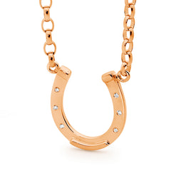 Medium Horse Shoe with Chain
