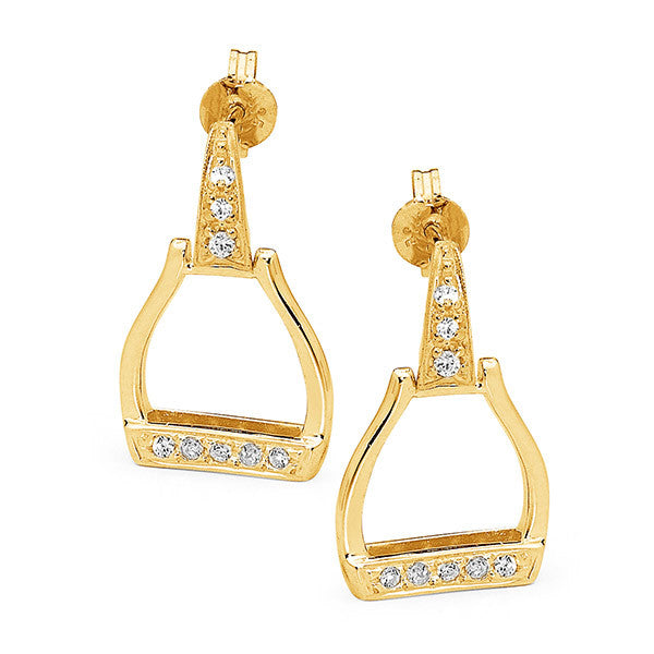 Oxbow Stirrup Earrings