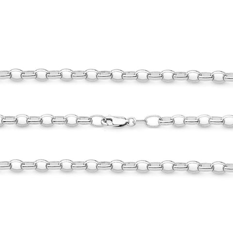 Belcher 2 Medium Oval Link Chain