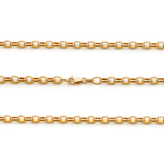 Belcher 3 Medium Oval Link Chain