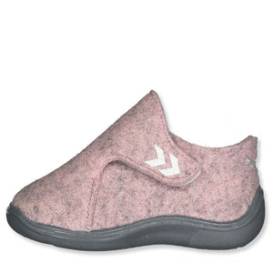 Pink Wool Slippers