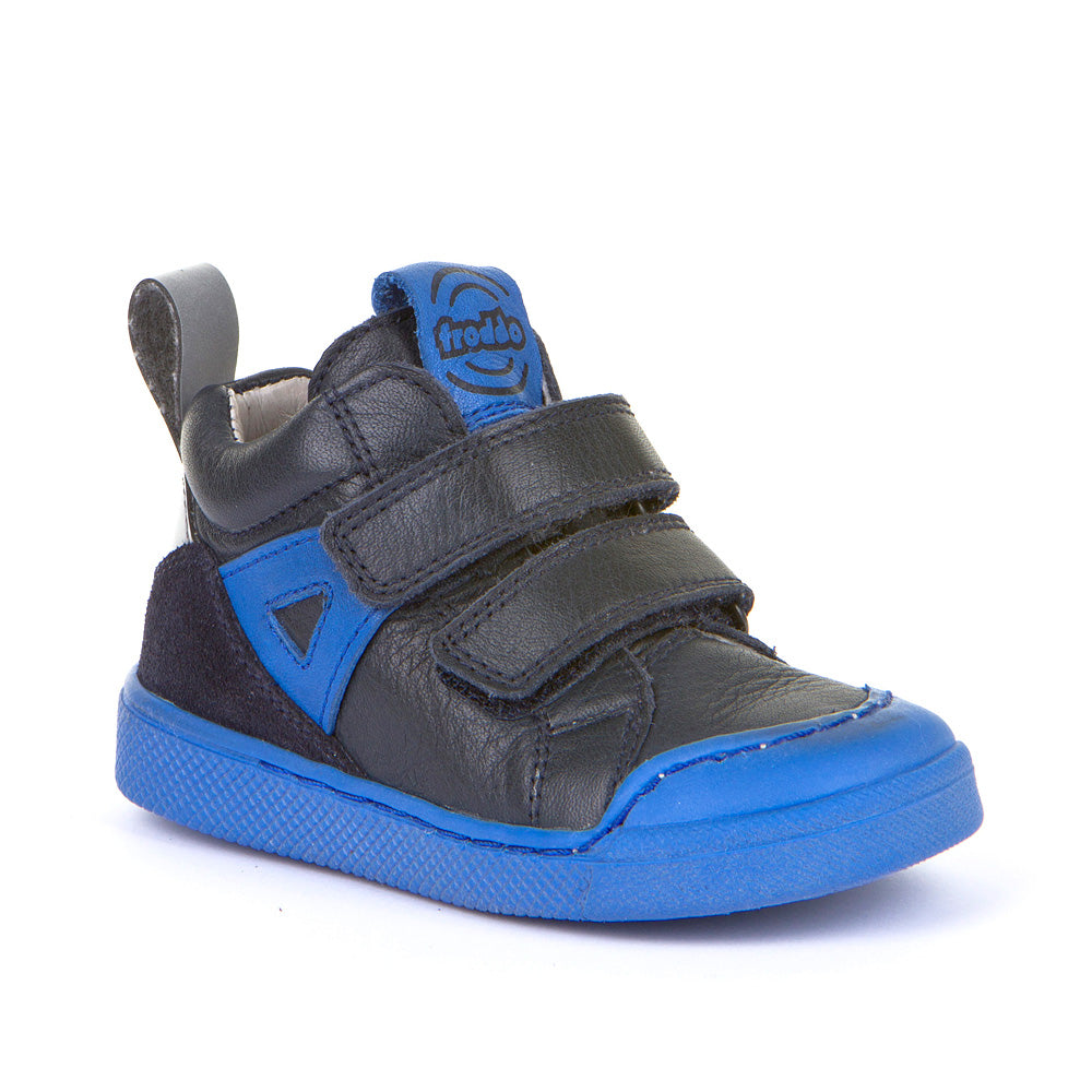 G2110081 Black and Blue High Top