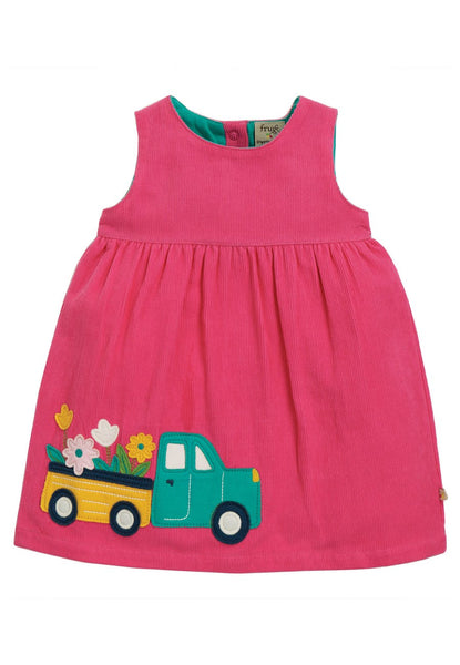 Lily Cord Dress, Flower Truck