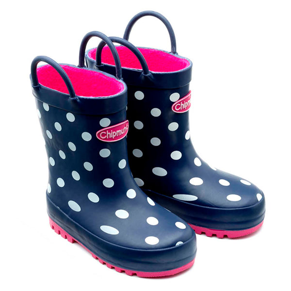 Jill Blue Wellington Boots