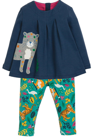 Ottilie Outfit, Space Blue