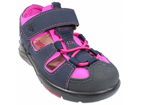 Gery - Navy and Pink