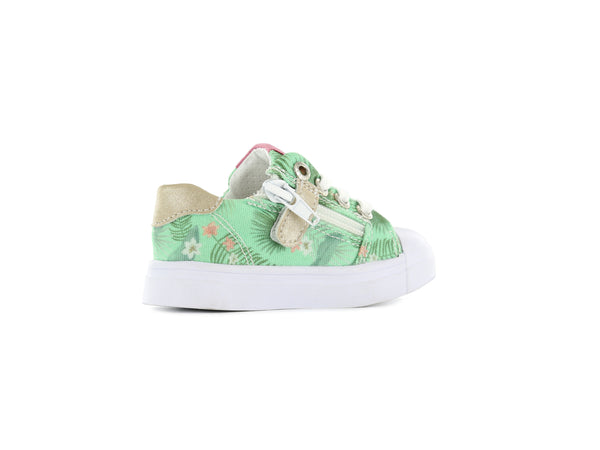 Sneakers Mint Flower