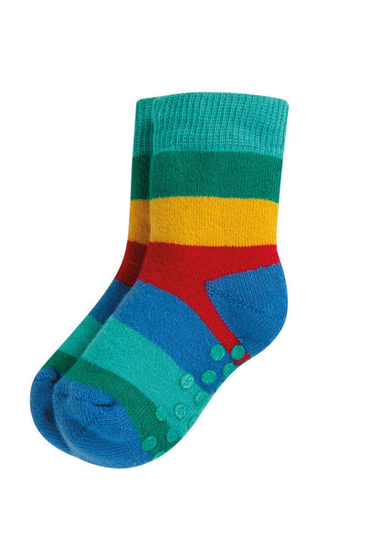 Grippy Socks 2 Pack, Rainbow