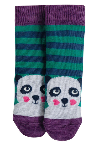 Perfect Little Pair Socks, Jade Stripe