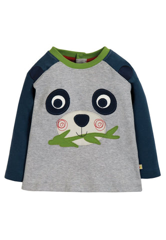 Happy Raglan Top, Grey