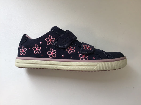 Spina Suede Navy