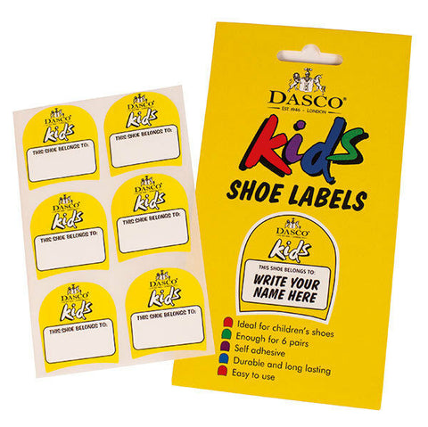 Children's Shoe Labels